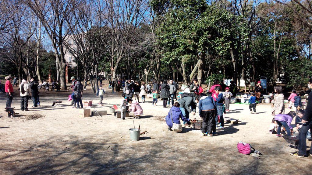 井草森公園ののびっぱ広っぱはこんな感じ。